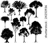 set of editable vector generic... | Shutterstock . vector #24253936