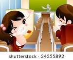 starting school | Shutterstock .eps vector #24255892
