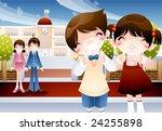 starting school | Shutterstock .eps vector #24255898