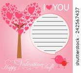 happy valentines day   Shutterstock .eps vector #242567437