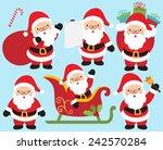 santa | Shutterstock .eps vector #242570284
