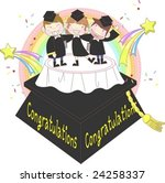 starting school | Shutterstock .eps vector #24258337
