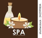 poster spa   Shutterstock .eps vector #242599834