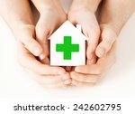 care  help  charity and people... | Shutterstock . vector #242602795