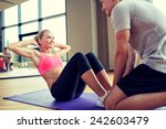 fitness  sport  training  gym... | Shutterstock . vector #242603479