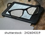Black Ereader With Retro...