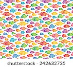 chinese cloud seamless... | Shutterstock .eps vector #242632735