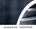 corrugated iron | Shutterstock . vector #242635969