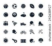 sport icons vector illustration | Shutterstock .eps vector #242638927