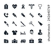 healthcare and medical icons... | Shutterstock .eps vector #242640769