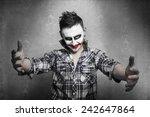Evil Joker Embrace