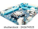 motherboard close up | Shutterstock . vector #242674525
