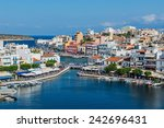 crete  greece   october 10 ... | Shutterstock . vector #242696431