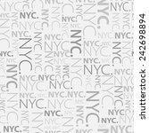 Vector. New York City Nyc. ...