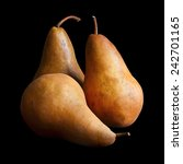 3 Bosc Pears Still Life With...