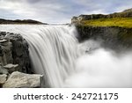 Постер, плакат: Dettifoss is a waterfall