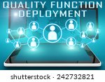 quality function deployment  ... | Shutterstock . vector #242732821