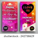 valentine's day invitation.... | Shutterstock .eps vector #242738629