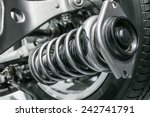 Suspension System - stock photo