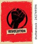 Revolution Fist Creative Poste...