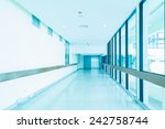 Empty Hallway In The Hospital