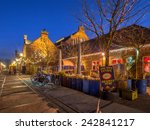 detail of buildings of the... | Shutterstock . vector #242841217