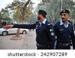islamabad pakistan   january 04 ...   Shutterstock . vector #242907289