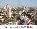 havana view from a roof of tall ... | Shutterstock . vector #24291094