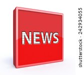 news square icon on white... | Shutterstock . vector #242934055