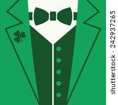 st patrick's day  leprechaun ... | Shutterstock .eps vector #242937265