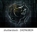 human geometry series. backdrop ...   Shutterstock . vector #242963824