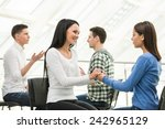 group of people support....   Shutterstock . vector #242965129