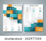 vector brochure template design ... | Shutterstock .eps vector #242977354