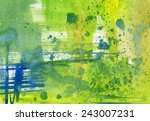 abstract composition in... | Shutterstock . vector #243007231