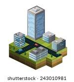 set of info graphics elements... | Shutterstock . vector #243010981