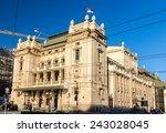 national theatre in belgrade  ...