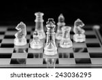 chess figure  business concept... | Shutterstock . vector #243036295