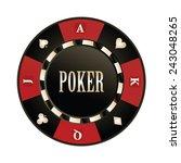 casino  poker chip vector design | Shutterstock .eps vector #243048265