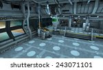 space station  | Shutterstock . vector #243071101