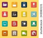warehouse transportation and... | Shutterstock .eps vector #243083131