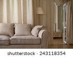 classical interior  fragment of ... | Shutterstock . vector #243118354