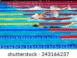 Women Free Style Swimming Race...
