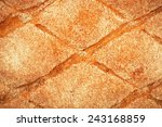 Homemade Bread Texture