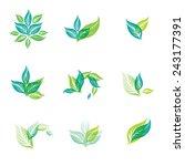 vector design elements for... | Shutterstock .eps vector #243177391
