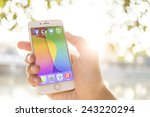 chiang mai  thailand   january... | Shutterstock . vector #243220294