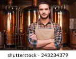 confident brewer. confident...   Shutterstock . vector #243234379