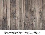 background of wooden boards. | Shutterstock . vector #243262534