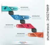 modern infographics options...   Shutterstock .eps vector #243274849