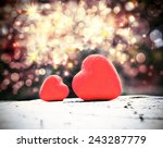 valentines day and hearts | Shutterstock . vector #243287779