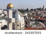 Jerusalem Old City  Church And...